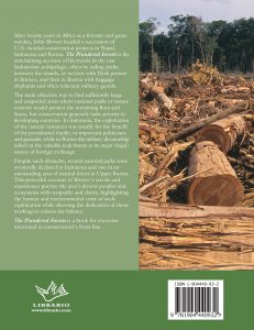 Plundered Forests rear cover