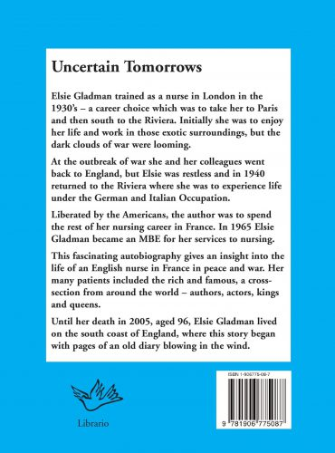 Uncertain Tomorrows rear cover